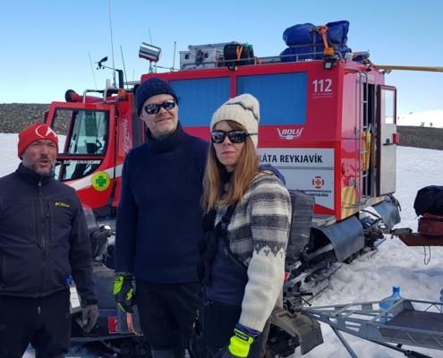 Vilhjálmur Kjartansson, Bergur Hermanns Bergsson og Hrafnhildur Hannesdóttir